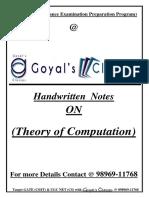 TOC (by Goyals Classes.)