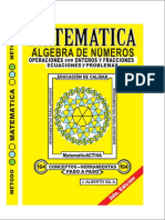 Libro Matemática Álgebra de Números