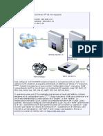 Configuración de Direcciones IP de Los Equipos