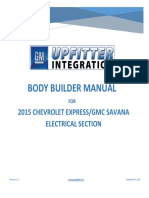 Express Savana Electrical Body Builders Manual Service Manual 2015 en US