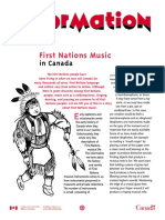 First Nations Music in Canada