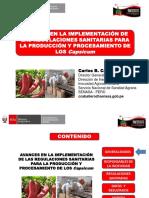 4. Implementación de Regulaciones Sanitarias para Producción y Procesamiento - SENASA.pdf