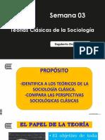 Teóricos Clásicos de La Sociología