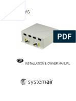 Syscontrol Ahu 10hp s