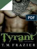 Tyrant - T. M Frazier