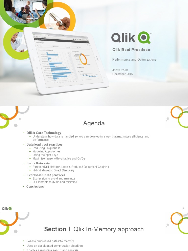Performance and Optimization Best Practices in Qlik v2