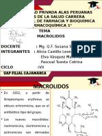 Expo Farmacoquimica -Macrolidos
