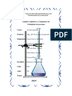 Informe de Procaina Clorhidrato