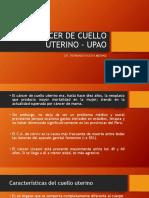 Cáncer de Cuello Uterino - Upao
