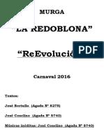 La Redoblona 2016 - Repertorio