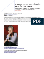 Auto-hemoterapia Maria Adelaide Amaral Apoia Dr Luiz Moura