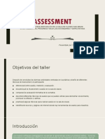 Assessment, Avaluo
