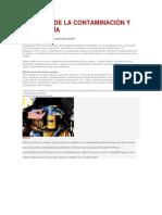 Control de La Contaminación y Tribología