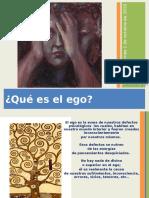 ¿Qué es el ego-