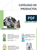 Catalogo Linea Pet Care