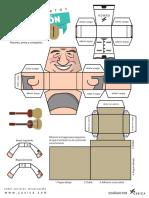 Tio Simon Paper Toy-NUEVO