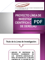 Linea de Investigacion - Diapositivas