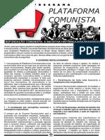 Plata Form a Comunista