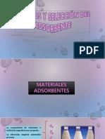 Tipos de Absorbentes