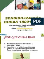 1 Sensibilizacion de Oshas 18001