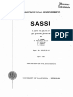 Lysmer, A System for Analysis of Soil-Structure Interaction, 1981