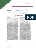 Psicología Del Trabajo, Las Organizaciones y Los Recursos Humanos e.