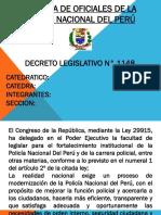 Decreto Leg. 1148 Pnp Diapositivas