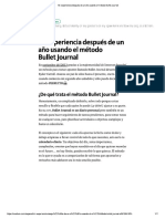 Método Bullet Journal Verificarlo Jun12-2017