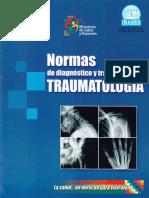 Normas de Diagnostico y Tratamiento en Traumatologia