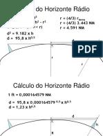Cálculo Do Horizonte Rádio