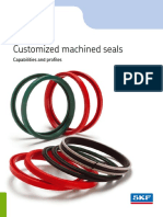 Customized Machined Seals