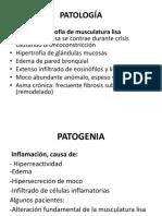 Patología Asma