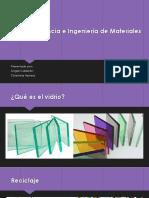 VIDRIOS – Ciencia e Ingeniería de Materiales