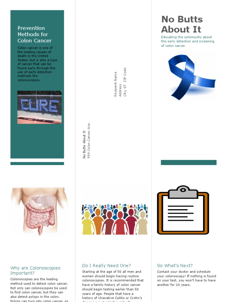 Brochure2 Colorectal Cancer Colonoscopy
