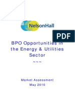 BPO Opportunities Energy Utilities May 2010 TOC