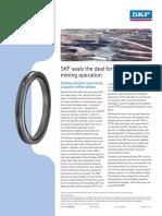 SKF Seals for Borax Mine