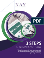 3 Steps To Instant Cash Flow