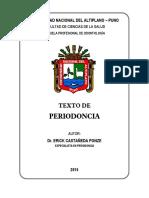 TEXTO PERIODONCIA 2015