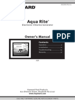 AquaRite AQR Owner