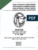 IRS Congress Boston 1996