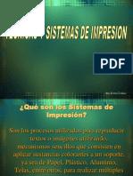 Tecnicas y Sistemas de Impresion