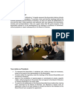 Junta Directiva Traducido Ingles