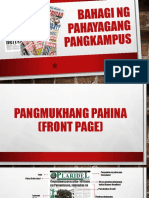 BAHAGI NG pahayagang pangkampus.pptx