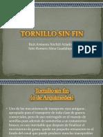 Tornillo Sin Fin