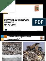 5-Mayo- Presentación Control de Residuos Sólidos-2007.ppt