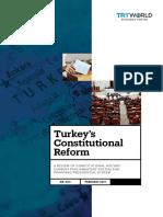 Turkeys Constitutional Reform