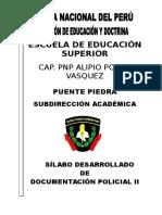 Documentacion Policial II