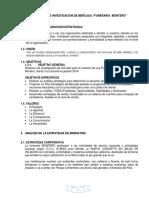 Proyecto Investigación Mercado Funeraria