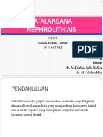 Tatalaksana Nephrolithiasis