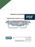 1.-TTRR Solicitud de Servicio Pintado de Estructuras y Cambio de Perfiles
